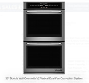 Jenn Air Jjw3830dp Stainless Electric Convection Double Wall Oven Brand New