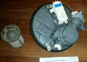 Kenmore Dishwasher Sump And Diverter Motor Part Wpw10455268 W10537869