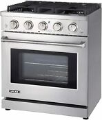 Lycan Gas Range Cook Top Stainless Steel Stove 4 Burners 4 55 Cu Ft Kitchen Oven