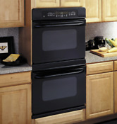 Ge 30 Built In Double Wall Black Self Cleaning Oven