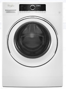 Wfw5090jw Whirlpool 24 2 3 Cu Ft Compact White Front Load Washer New