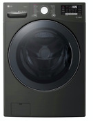 Lg Wm3900hba Black Steel 27 Turbosteam Front Load Washer New Out Of The Box