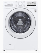 Lg Wm3400cw 4 5 Cu Ft High Efficiency Stackable Front Load Washer New Out Of Box