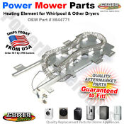 8544771 Wp8544771 Ps990361 De771 Dryer Heating Element For Whirlpool Kenmore