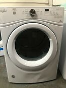 Whirlpool Duet Wgd75hefw 27 Inch 7 4 Cu Ft Gas Dryer White