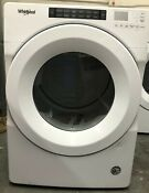Whirlpool Wgd5620hw1 27 Inch Gas Dryer With Advanced Moisture Sensing White