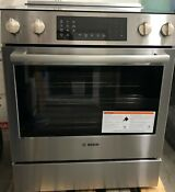 Bosch 800 Series Hei8056u 30 Inch Slide In Electric Range Stainless Steel