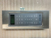 Whirlpool Microwave Control Panel Assembly Stainless W10443378