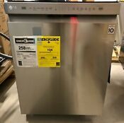 Lg Ldf5545ss Stainless Steel Tall Tub Front Control Dishwasher New