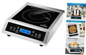 Professional Portable Induction Cooktop Commercial Range Countertop Burner