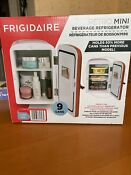 Portable Retro 9 Can Mini Fridge Compact Cooler Home Office Car New Red