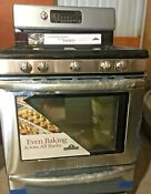 New Kitchen Aid Stainless Steel Gas Range Center Top Grill Factory New In Box