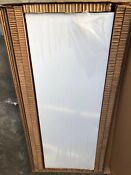 Ge Cafe Cklblscnw2 Matte White Left Side Panel For Counter Depth Refrigerator