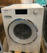 Miele Wwh860wcs 24 Inch Smart Front Load Washer White