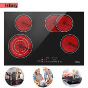 Iseasy 30 Drop In Cooktop Ceramic Radiant Touch Control 4 Burners Child Lock Us