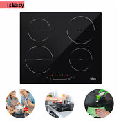 23 Iseasy Electric Cooktop 4 Burners Induction Stove Built In Touch Control Us