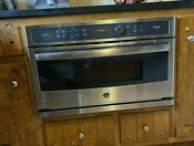 Ge Profile 30 In Single Wall Oven With Advantium Technology Psb9120sfss