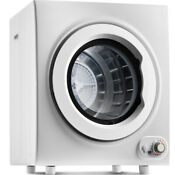 Compact Fast Safe Laundry Dryer 9 Lbs Capacity Tumble Dryer 1400w Drying Power