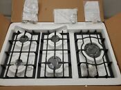 Empava 30in 5 Italy Sabaf Burners Gas Stove Cooktop Tempered Glass In Black New