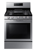 Samsung Nx58r5601ss 30 Gas Range With Convection Oven New