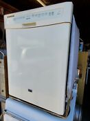 Bisque Maytag Built In Under Counter Dishwasher Model Mdb7749aw02