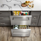 Thor 24 Under Counter Refrigerator Built In Outdoor Drawer Weather Proof Solid