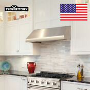 48 Range Hood Wall Mounted Extractor Built Stainless Steel In Insert Cabinet