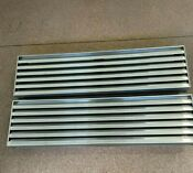 Sub Zero Refrigerator Parts 36 Top Louvered Grill For A Built In Refrigerator