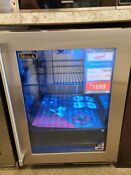 Hp24rs33r Perlick 24 Under Counter Fridge Right Hinge Stainless Glass Display