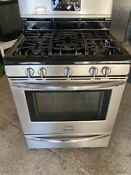 Frigidaire 30 Gas Range 5 Burners Stainless Steel And Black