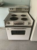 Vintage General Electric Oven P7 Stove Working Order Local Pickup Only Flaws