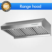 Stainless Under Cabinet Mount Panel Range Hood 30 Cfm Stove Kitchen Control Vent