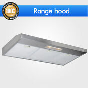 3 Speeds Control Under Cabinet Range Hood Stove 36 Stainless Steel Push Button