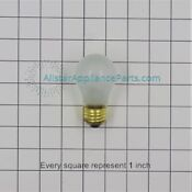 Whirlpool Kenmore Maytag Refrigerator 8009 Frosted Light Bulb Oem