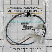 Oem 8283288 Whirlpool Dryer Door Switch