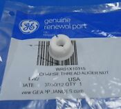 Ge Wr01x10315 Refrigerator Ice Auger Nut New Oem