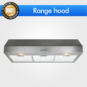 2018 Kitchen 36 Stainless Steel Fan Control Range Hood Vent Under Cabinet Stove