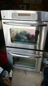 Wall Double Oven General Electric Model Jtp55spss