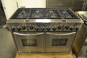 48 Kitchenaid Kdrp487mss Stainless Steel Dual Fuel Convection Gas Range
