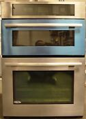 Jenn Air 30 Electric Microwave Oven Combo Built In Stainless Steel Jmw2330ws
