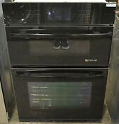 Jennair Jmw3430wb 30 Built In Black Elect Combo Microwave Convection Wall Oven