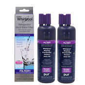 2pack W10295370a Everydrop 1 Edr1rxd1 Whirlpool Pur Refrigerator Water Filter