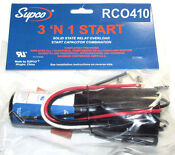 Supco Hard Start Kit Rco410 Refrigerators Compressor Start Relay Overload 3 In 1