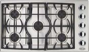 Dcs Fisher Paykell Ct365ss 36 Sealed 5 Burner Profession Dropin Gas Cooktop