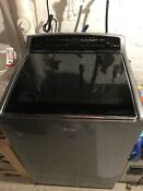 Like N E W Whirlpool Cabrio 27 Inch Top Load Washer Silver Must Go