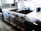 Wolf 48 Professional Dual Oven Gas Range 4 Burner W Large Griddle Clean