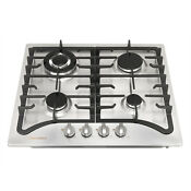 Usa 23inch Stainless Steel Built In 4 Burners Lpg Ng Cooktop Hob Cooker Cooktop