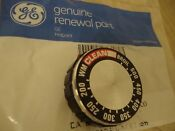 Ge General Electric Oven Thermostat Knob Vintage