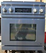 Dacor Distinctive 30 Stainless Steel Dual Fuel Convection Range Dr30dng