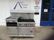 Wolf Combination Range W 2 Ovens 1 Griddle 1 Broiler 2894
